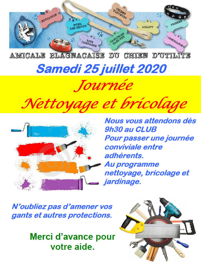 Affiche nettoyage