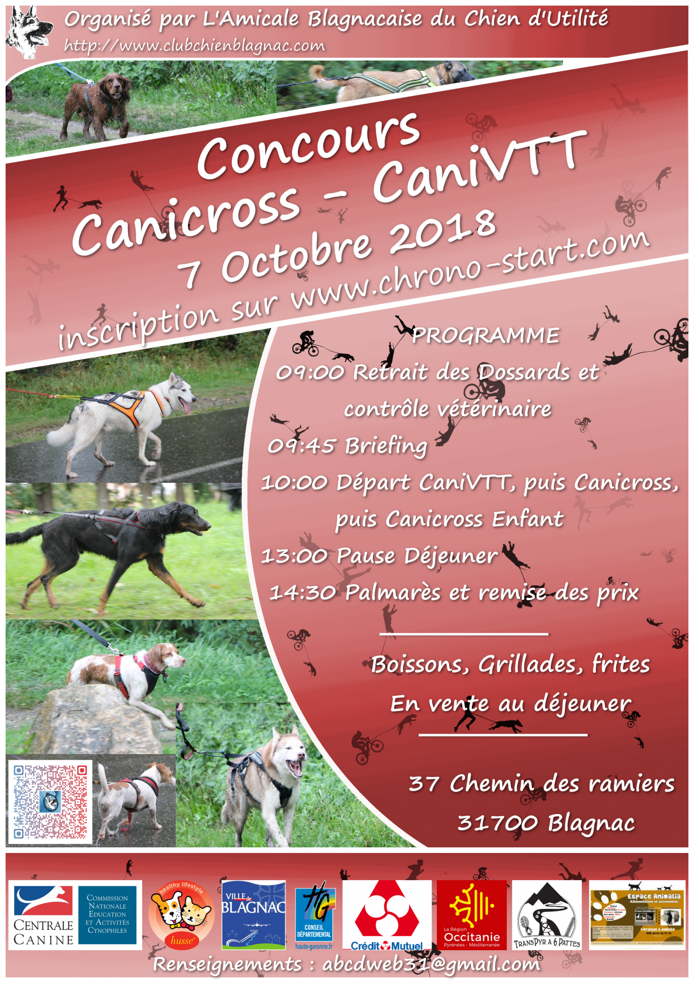 Concours Canicross